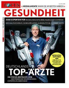 FOCUS empfiehlt Dr. Meyer als Facharzt in Hamburg